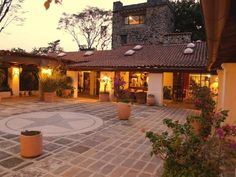 A courtyard made for enchanting evenings. - Tepoztlan estate rental
