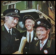 """On the Buses"": the TV series starring Stephen Lewis as the Inspector, Bob Grant as Jack and Reg Varney as Stan Butler. The series spawned three theatrical feature films from Hammer Productions in the with the same cast British Tv Comedies, Classic Comedies, British Comedy Films, English Comedy, Radios, Match Of The Day, Tv Show Casting, Vintage Tv, Vintage Music"