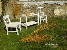 Marionneta: Proutí vrbové... Outdoor Furniture Sets, Outdoor Decor, Home Decor, Decoration Home, Room Decor, Home Interior Design, Home Decoration, Interior Design