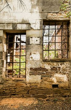 Fine Art: Ruins in Kaapsehoop, South Africa on Behance