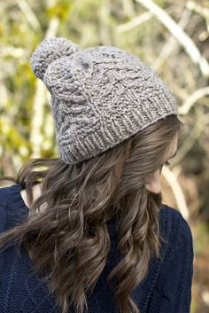 Ravelry: Foxtail Hat pattern by Nikki Wagner