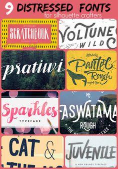 9 Killer Distressed Fonts For Designers Free Design