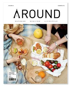 I love a picnic. Remember when we had this Wintery picnic a few weeks ago? It was so COLD that day, but hot tea and the misty day made everything taste better, picnic-wise. Print Layout, Layout Design, Print Design, Graphic Design, Editorial Layout, Editorial Design, Magazin Design, Magazine Cover Design, Magazine Covers