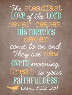 Great Is Thy Faithfulness by CarlaGDesignandPhoto on Etsy, $15.00