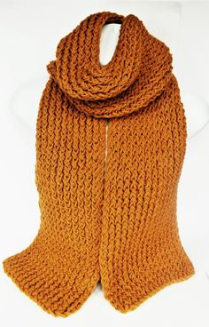 Mustard yellow scarf, chunky knit scarf, knitted scarf, handmade scarf, knitted scarves, mens scarf, womens knit scarf, lelsloom, autumn by Lelsloom on Etsy https://www.etsy.com/listing/541457985/mustard-yellow-scarf-chunky-knit-scarf