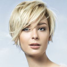 Coiffure cheveux courts - SAINT ALGUE - Tendances automne-hiver ...