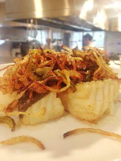 Tacos de bacalao, un clásico de nuestra casa! #casatrabanco #lavandera #gadusmorhua #bacalao #recetacasera #tradicion #carta #producto