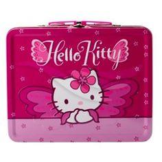 Söt väska i plåt med Hello Kitty. Mått: 20 x 16 cm.