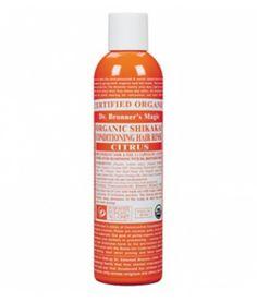 Organic Citrus Conditioning Hair Rinse es un acondicionador 100% natural de cítricos para el cabello. Necesita aclarado. Es un acondicionador nutritivo y eficaz sin ningún tipo de ingrediente sintético. 236ml