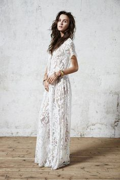 White lace wedding dress | Bridal  | The Lifestyle Edit