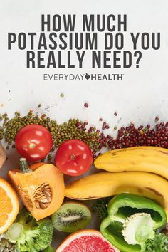 Potassium is an essential part of your diet, and can even help you manage your high blood pressure. That's because potassium actually helps you reduce the effects of sodium on your body — when you eat more potassium, you actually expel more sodium through your urine.