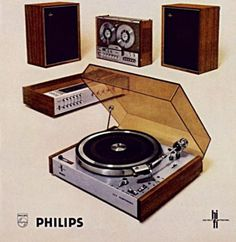Vintage audio Reel to Reel :: :: Record Player :: Tape Deck :: Gotcha Covered :: Philips Audio Vintage, Vintage Music, Vintage Ads, Electronics Projects, Record Players, Hifi Audio, Philips, Old Tv, Audio Equipment