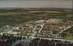 Aerial View , Bob Jones University Greenville, SC