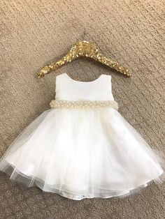 For Mia *** Baby Girl Christening Dress Baby Baptism Dress White baby White Baptism Dress, Baby Christening Dress, White Baby Dress, Baby Baptism, Frock Design, Baby Girl Dresses, Flower Girl Dresses, Look Chic, Toddler Dress