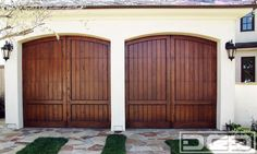 I like this option too for the garage door, pretty, but not too formal.