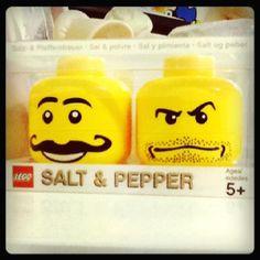 Salt  Pepper  #lego #yellowman #face