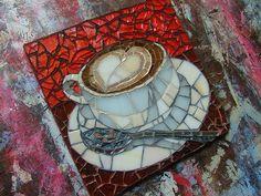 Latte Heart Valentine by Lori Desormeaux