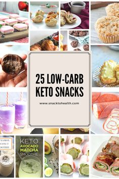 Fat bombs, anyone? 25 keto snacks to help you stay in ketosis. Matcha, Snacks To Make, Fat Bombs, Keto Snacks, Low Carb Keto, Smoothie, Health, Ethnic Recipes, Food