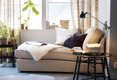 Ikea Chaise Longue for Living Room Decorations