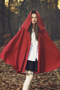How to make a Little Red Riding Hood costume