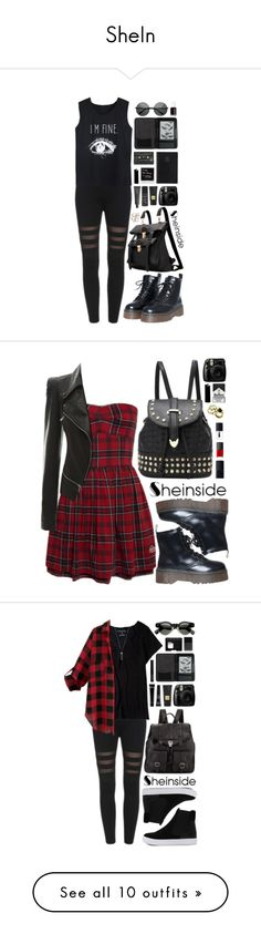 """""""SheIn"""" by scarlett-morwenna ❤ liked on Polyvore featuring NARS Cosmetics, Bite, Tom Ford, Prada, Cole Haan, Essie, Sheinside, followforfollow, f4f and promotion"""
