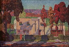 1931 International/Art Moderne House   by American Vintage Home