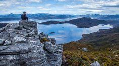 Looking over Lake Pedder from the Wilmot Range (Credit: Credit: Dan Broun)