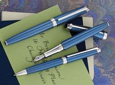 Fine Pens, Pen Sets, Writing Instruments, Fountain Pens, Gifts, Accessories, Hand Lettering, Feathers, Presents