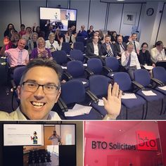 Who says Lawyers don't have fun . 40 lawyers (30 in Glasgow 10 remote in Edinburgh) attending my CPD social media training (focussing on the dangers!). Great lunchtime chat at BTO Solicitors. . . . #socialmediatraining #cpd #training #AlwaysLearning #socialmediadangers #glasgow #edinburgh #legal #professionaldevelopment #fun #selfie #GroupSelfie