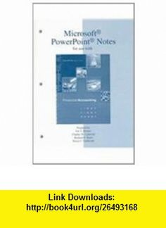 Microsoft PowerPoint Notes t/a Financial Accounting (9780072473650) Robert Libby, Patricia Libby, Daniel G Short, Daniel Short , ISBN-10: 0072473657  , ISBN-13: 978-0072473650 ,  , tutorials , pdf , ebook , torrent , downloads , rapidshare , filesonic , hotfile , megaupload , fileserve