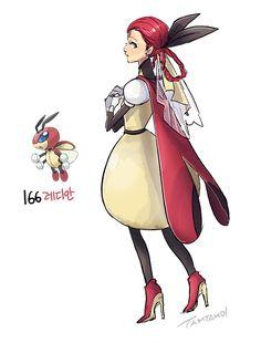 Pokemon gijinka 165. Ledyba (espalda) 166. Ledian                                                                                                                                                                                                                                                                                                                                                                                                                                                                                                                                                             My doodle box