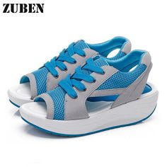 Summer Sandals Fish Head Korean Casual Loose Women's Shoes With Platform Fashion Increased Leisure Shoes Mesh Shoes Breathable-in Women's Sandals from Shoes on Aliexpress.com | Alibaba Group