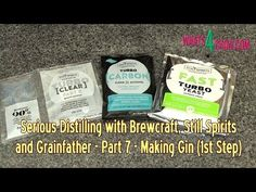 Serious Distilling with Brewcraft, Still spirits and Grainfather - Making Gin, Part 1 and 2 - How To Make Gin, Still Spirits, Best Shakes, Making Gin, Types Of Food, Recipe Using, Be Still, Alcohol, Cooking Recipes