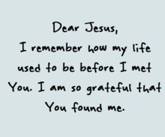 Yes! So thankful