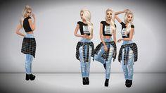Aveira's Sims 4, immortalsims:  OOTD   Hair - @aveirasims    Top -...