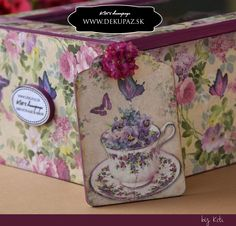 Decoupage, Lunch Box, Bento Box