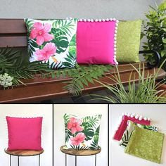 Refresh your living room or terrace with this stunning collection of summer throw pillow covers.