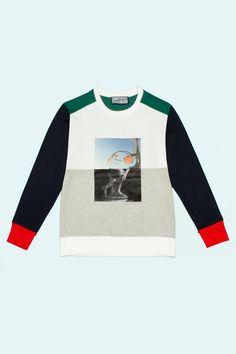 Christopher Shannon  OC-Exclusive Collage Print Sweatshirt #THEOUTNET #FASHIONMATH
