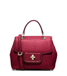 Emery Small Leather Satchel  by Michael Kors