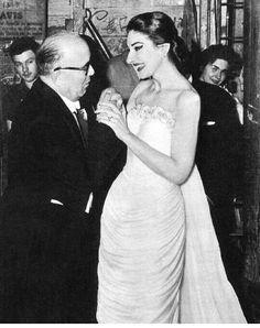 Maria Callas em 1957.