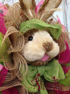 New DIY Bunny Wreath Kit at Trendy Tree!