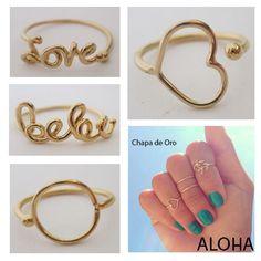 Los anillos de medio dedo están en tendencia estilizan las manos y realzan el estilo.