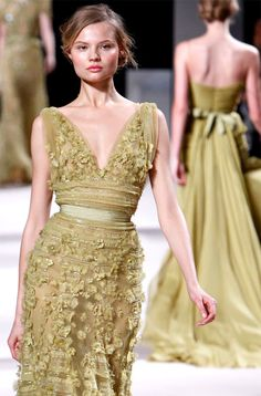 Elie Saab's 2011 Spring Couture Collection