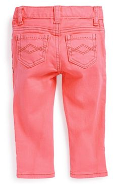 Peek 'Maya' Skinny Jeans (Baby Girls) available at #Nordstrom
