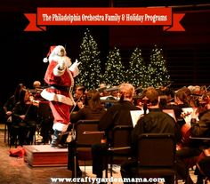 The Philadelphia Orchestra Family & Holiday Programs - Crafty Garden Mama #ad
