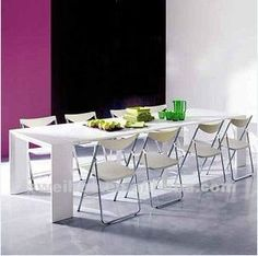 48mm Width Adjustable Extension Folding Table Slide Space Saving Dining Furniture