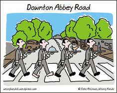 elguindilla: Downton Abbey Road Wrong Hands