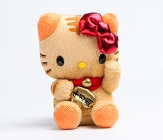 Hello Kitty Mascot Plush: Tiger Lucky Cat