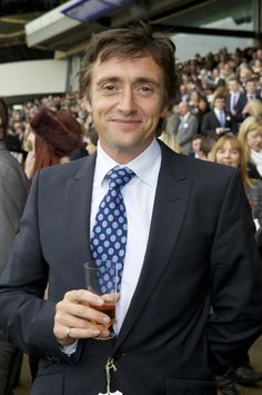 Richard Hammond at QIPCO British Champions Day 20.10.12 (Patch Dolan)    celebrityDUI.com