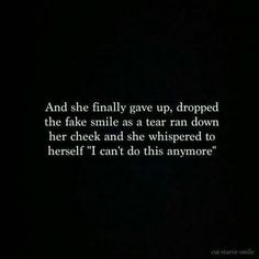 Sometimes you've got to just let go and have a good cry.